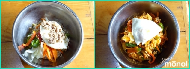 before-after-bibimbap