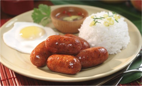 Filipino Food - Longganisa (photo from the internet)
